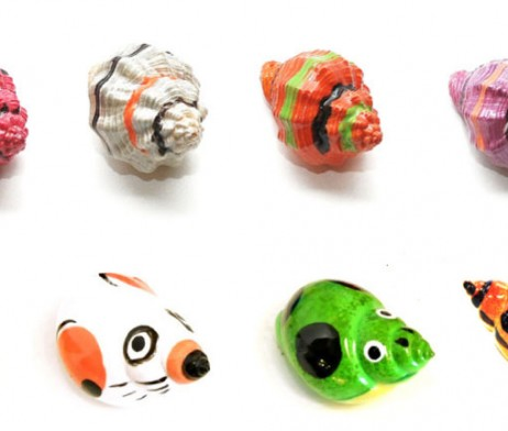 Bugs and Humbugs Painted Shells