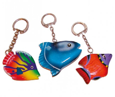 Fish Key Rings