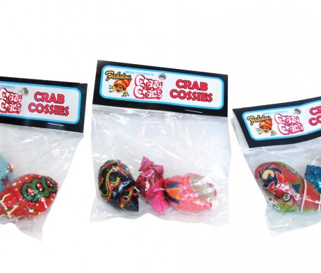 Crab Cossies - Assorted Painted Shells