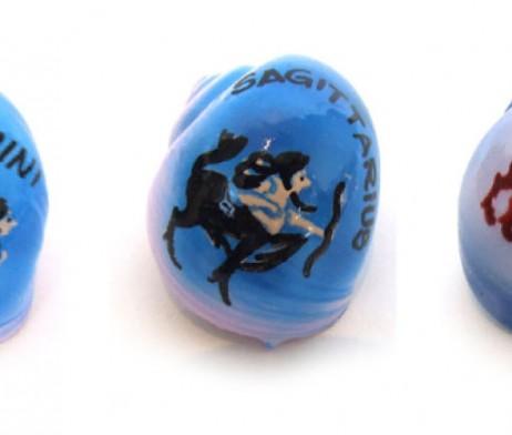 ZODIAC Painted Shells